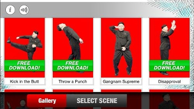 A newly developed Android App pokes fun at the North Korean dictator